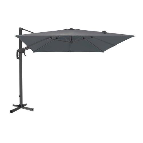 Central Park parasol Ponza 3m antraciet