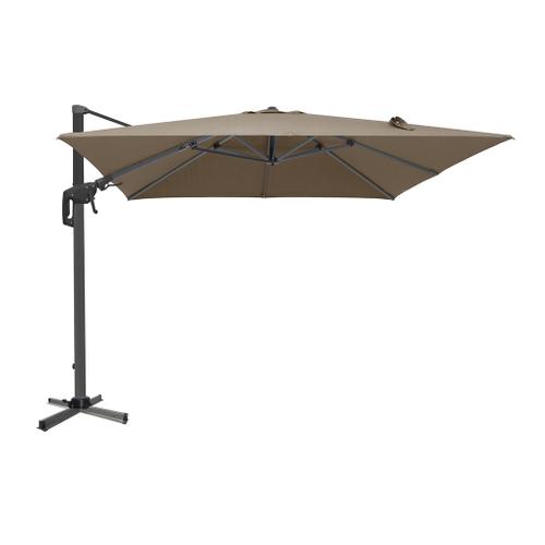 Central Park parasol Ponza 3m taupe
