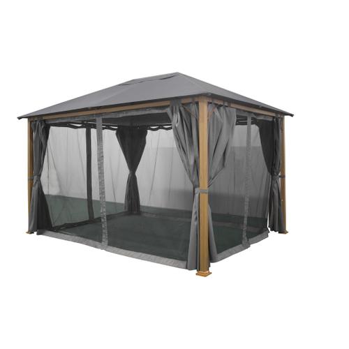 Moustiquaire pour tonnelle Central Park Olbia anthracite
