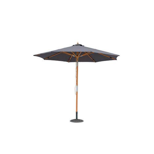Central Park parasol Vada hout 2,9m antraciet