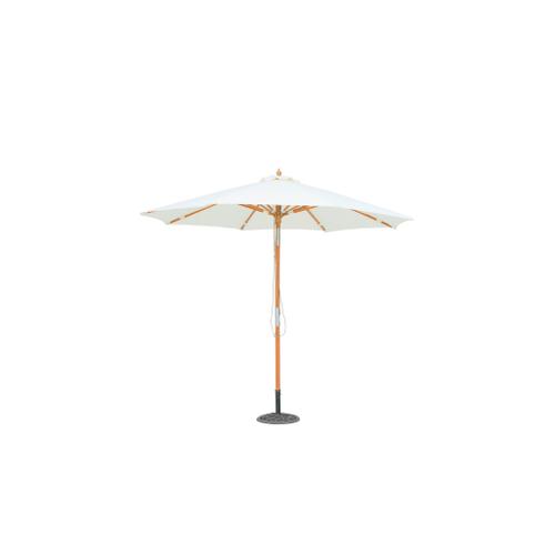 Central Park parasol Vada hout 2,9m ecru