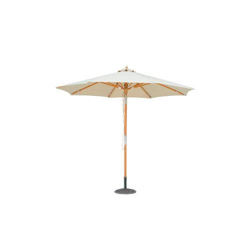 Parasol Central Park Vada bois 2,9m sable