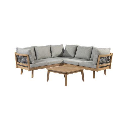 Central Park loungeset Mimizan 3-delig hout