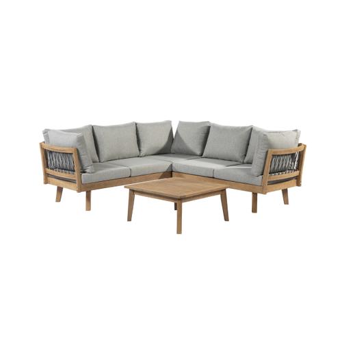 Central Park loungeset Mimizan 3stk hout - 2020 -