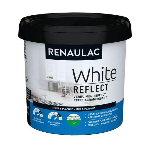 Renaulac latex White Reflect mat wit 1L