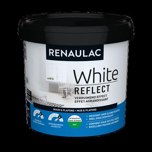 Renaulac binnenmuurverf White Reflect mat wit 1L