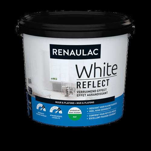 Renaulac latex White Reflect mat wit 5L