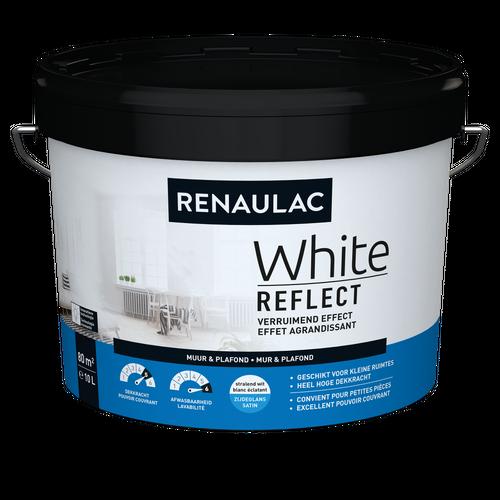 Renaulac latex White Reflect zijdeglans wit 10L