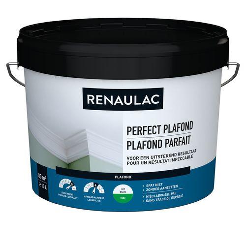 Renaulac plafondverf Perfect Plafond mat wit 10L