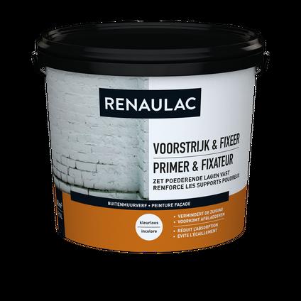Renaulac buitenmuurverf Gevel Voorstrijk & Fixeer transparant 5L