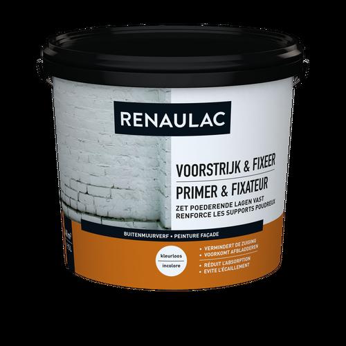 Renaulac peinture façade Primer & Fixateur 5L