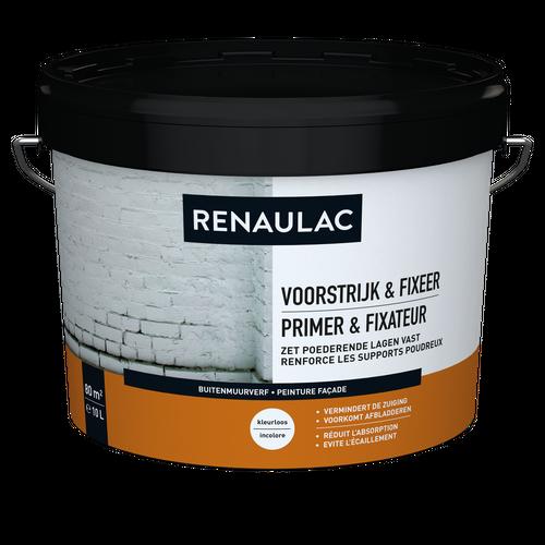 Renaulac peinture façade Primer & Fixateur 10L