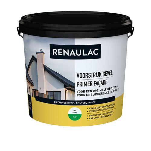 Renaulac buitenmuurverf Gevel Voorstrijk wit 5L