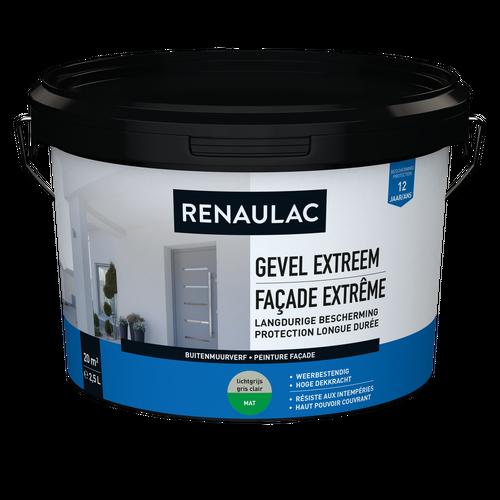 Renaulac peinture façade Extrême gris clair 2,5L