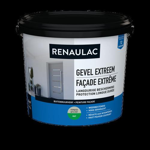 Renaulac peinture façade Extrême gris clair 5L