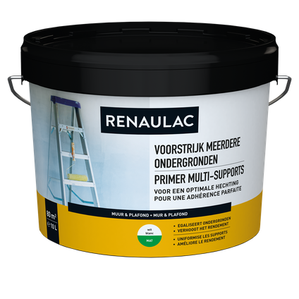 Renaulac sous-couche Multi-Supports blanc 10L