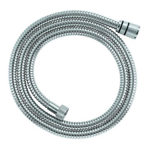 Flexible de douche Grohe Movario métal chrome 150cm