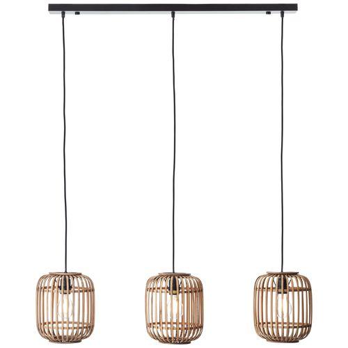 Brilliant hanglamp Woodrow rotin 3xE27