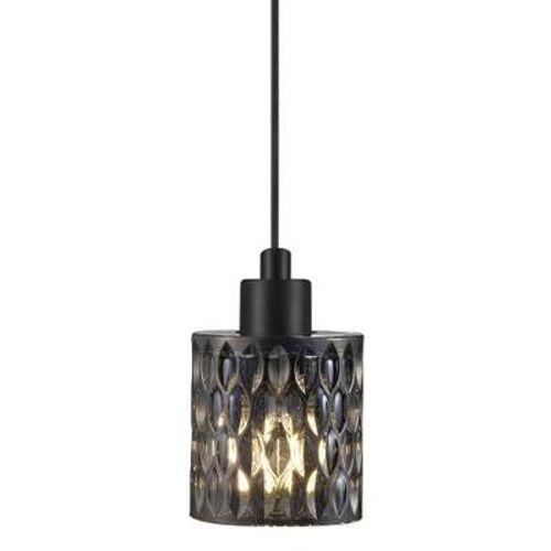 Nordlux hanglamp Hollywood zwart gerookt E27