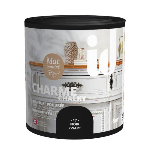 Peinture meuble ID Charme noir 500ml