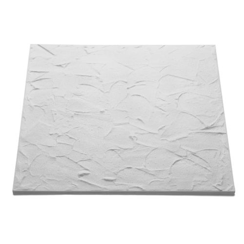 Dalle plafond Decoflair T140 polystyrène blanc 50x50x1cm 8pcs