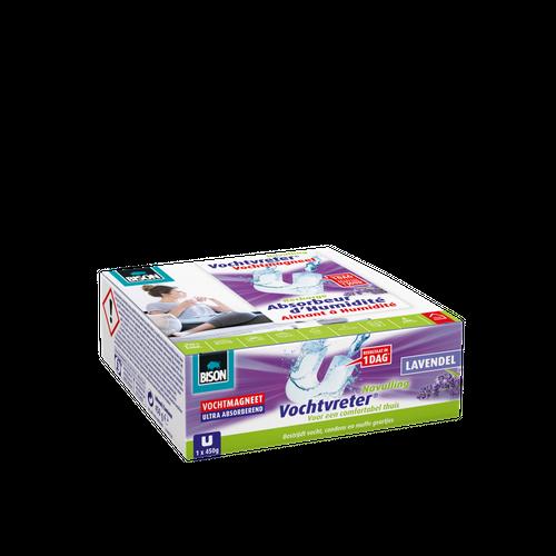 Bison Vochtvreter Ambiance magneet lavendel navulverpakking