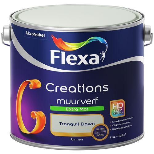 Flexa muurverf creations extra mat tranquil dawn 2,5l