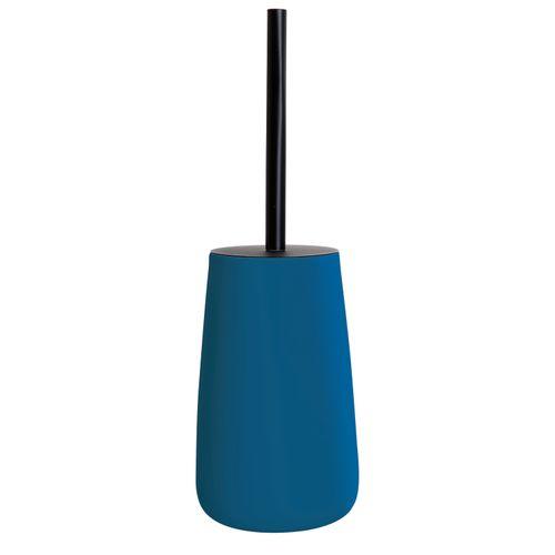 Allibert toiletborstel met houder O'Touch blauw soft touch
