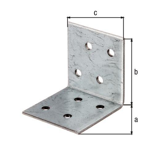 GAH Alberts hoekverbinder 40x40x40mm
