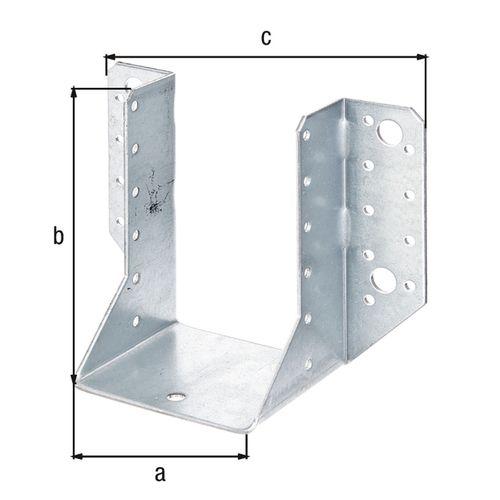 GAH Alberts draadspanner + stalen moer gegalvaniseerd 2/100mm