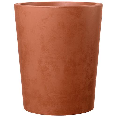Deroma bloembak Vaso Millennium met waterresere terracotta Ø43,5cm