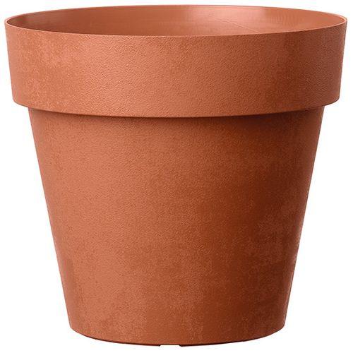 Deroma bloempot Vaso corten 15x14cm terracotta