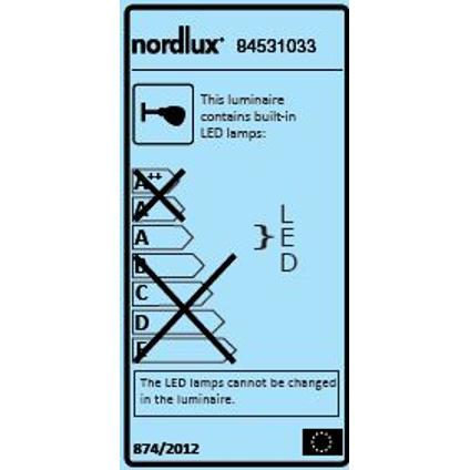 Nordlux wandlamp LED Nile 6,3W