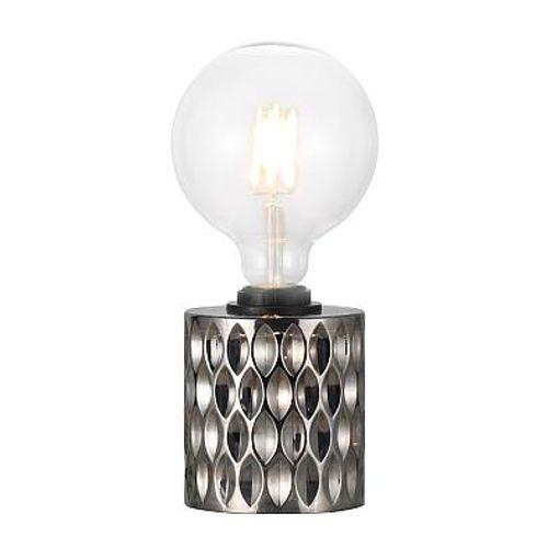 Nordlux tafellamp Hollywood zwart gerookt E27