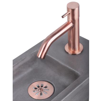 Lave-mains Differnz Ravo béton gris foncé 38,5cm