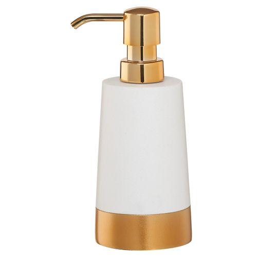 Distributeur de savon Sealskin Glossy polyrésine doré