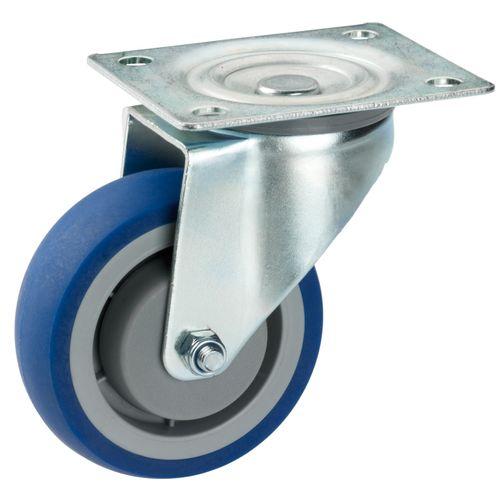 Dörner+Helmer comfortwiel TPE blauw
