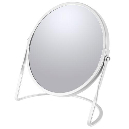 Spirella make-up spiegel Akira staand mat wit