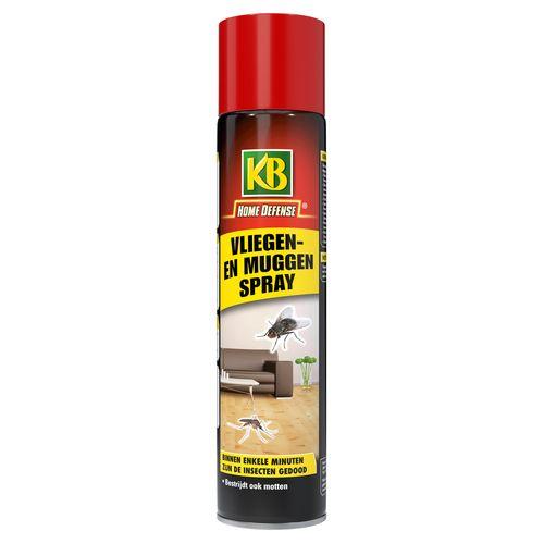 KB vliegen en muggenspray 400ml