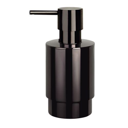 Distributeur de savon Spirella Nyo titan noir