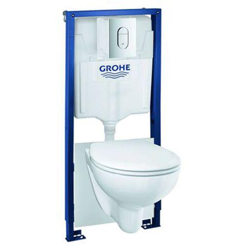 Grohe complete toiletset Bau Arena keramiek wit