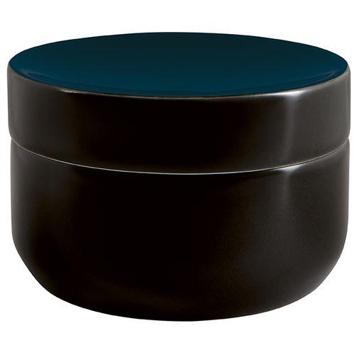 Boîte à disques à démaquiller Spirella Jaro noire/bleue