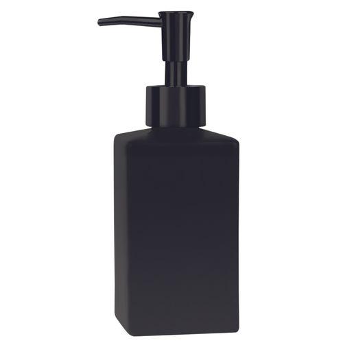 Distributeur de savon Spirella Quadro noir