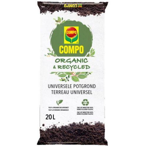 Terreau organic et recycl univere Compo 20L