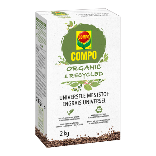 COMPO ORGANIC & RECYCLED UNIVERSELE MESTSTOF 2 KG
