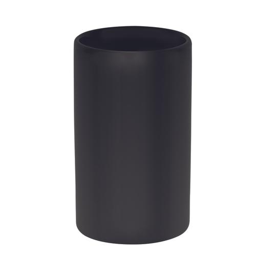 Spirella beker Tube mat zwart