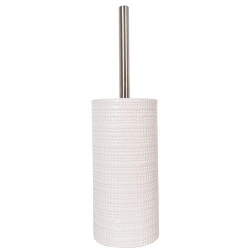 Spirella toiletborstel met houder Venise wit