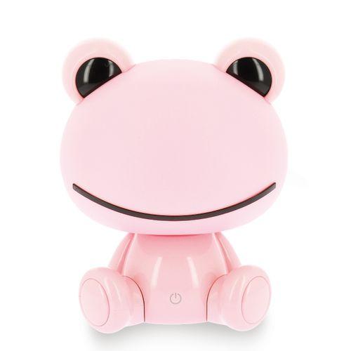 Kinderlamp Froggie roze