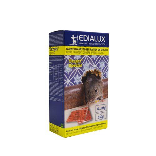 Edialux rodenticide appât anti-rats et souris 150g