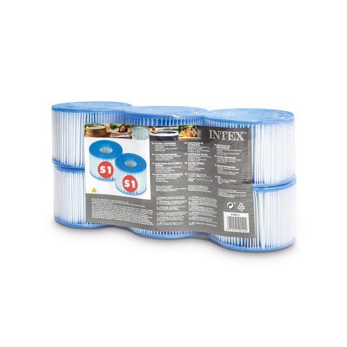 Cartouches de filtration Intex S1 6 pces